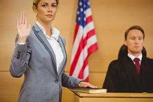 دفاع در برابر شهادت کذب
